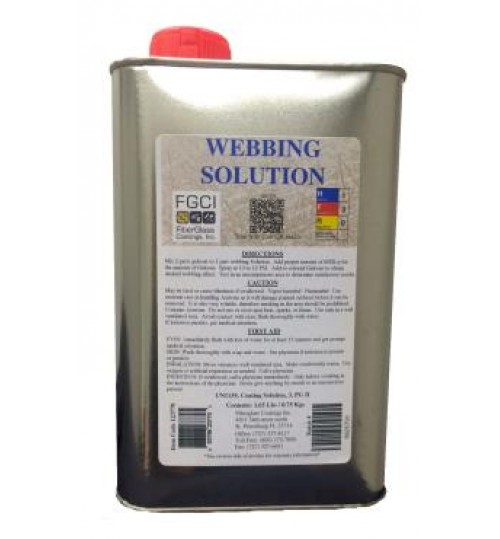 Webbing Solution Gel Coat Additive
